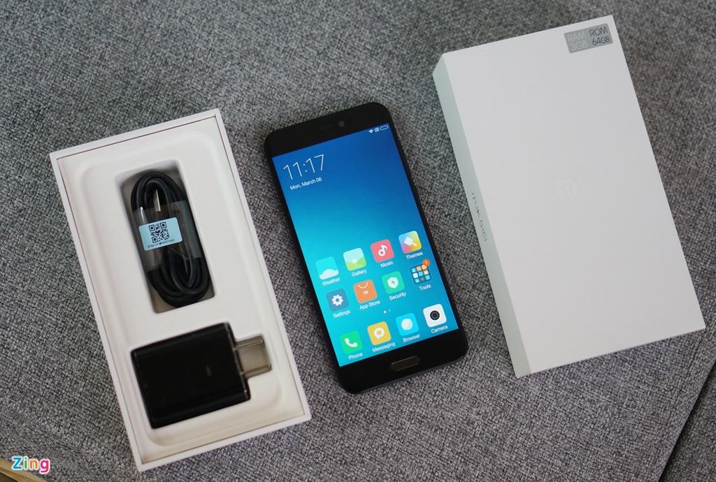 Xiaomi Mi 5c ve Viet Nam: Thiet ke cao cap, hieu nang trung binh hinh anh 1