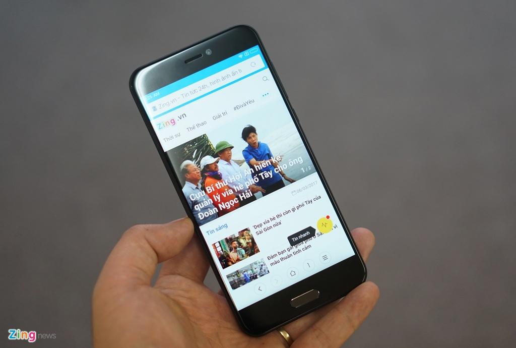 Xiaomi Mi 5c ve Viet Nam: Thiet ke cao cap, hieu nang trung binh hinh anh 11