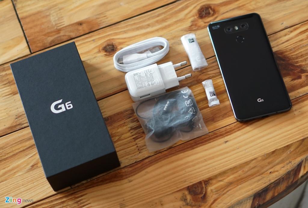LG G6 ve Viet Nam: Dang nho gon, gia 16,7 trieu dong hinh anh 2