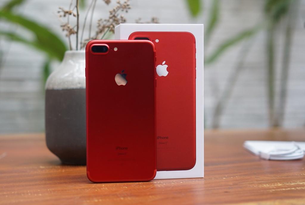 Anh thuc te iPhone 7 Plus mau do anh 1