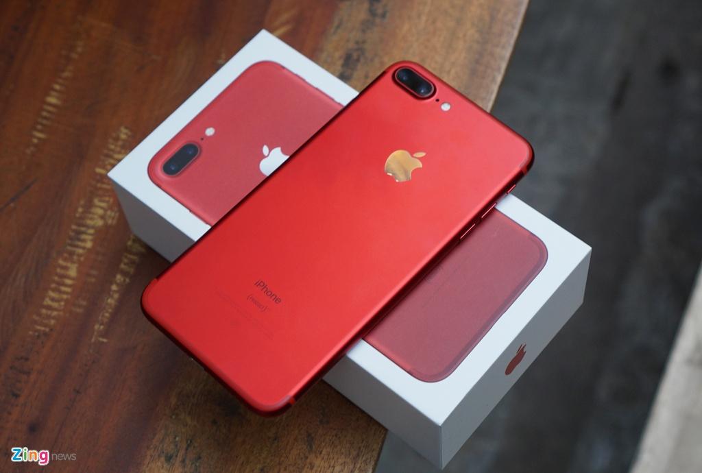 Anh thuc te iPhone 7 Plus mau do anh 12
