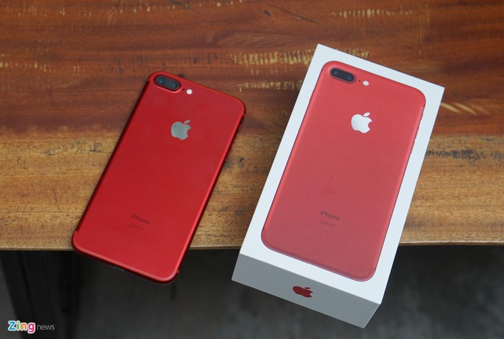 Cận Cảnh Iphone 7 Plus đỏ Tại Vn độc đẹp Giá Cao Mobile