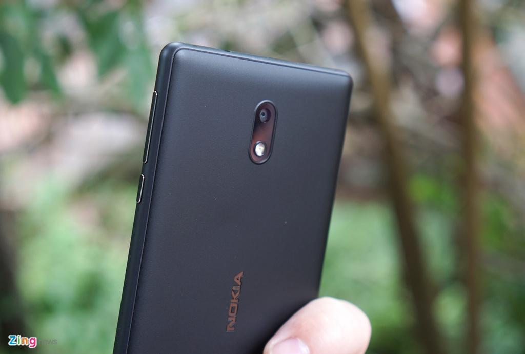 Danh gia Nokia 3: Smartphone gia re, thiet ke ua nhin hinh anh 3