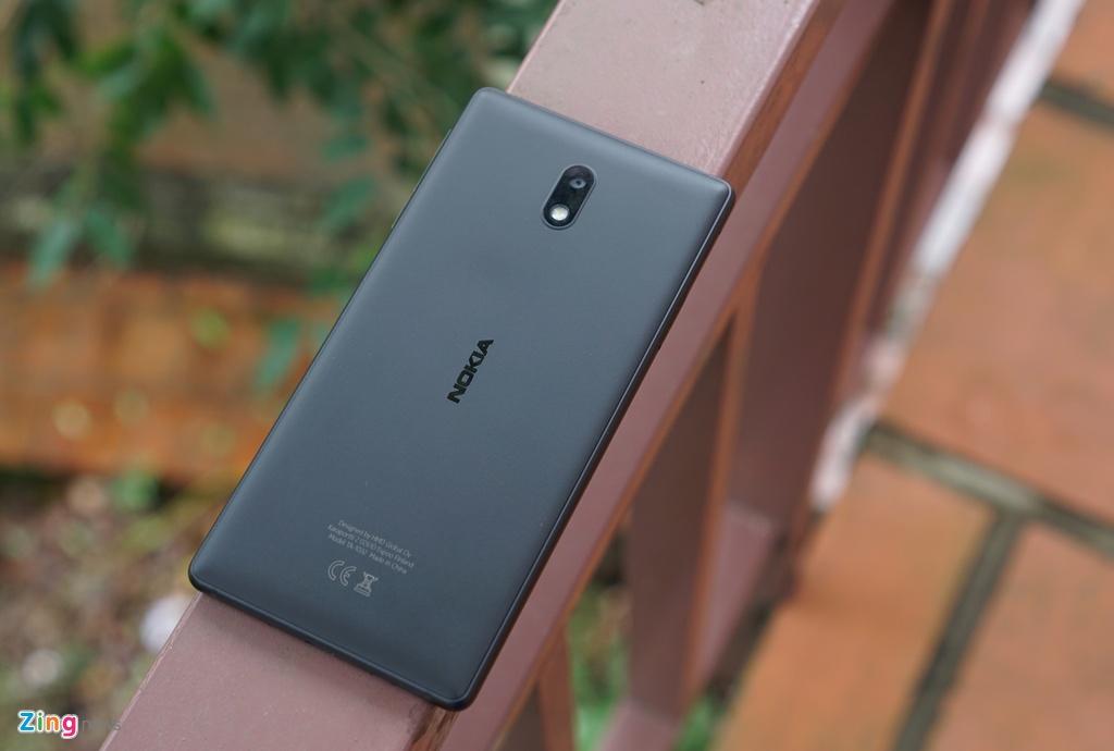 Danh gia Nokia 3: Smartphone gia re, thiet ke ua nhin hinh anh 1