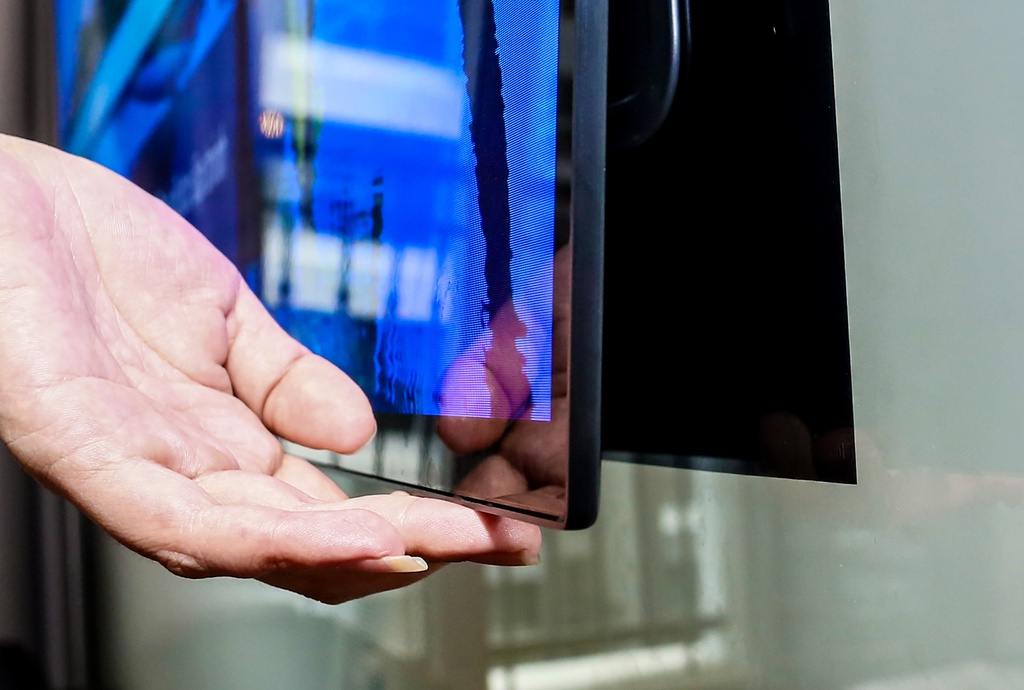 Danh gia LG Signature W7: TV hay tac pham nghe thuat? hinh anh 1