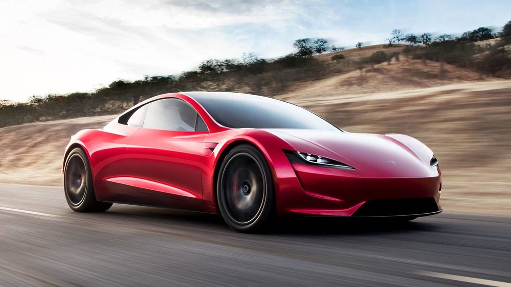 Elon Musk ra mat xe mui tran tang toc nhanh nhat the gioi hinh anh 12