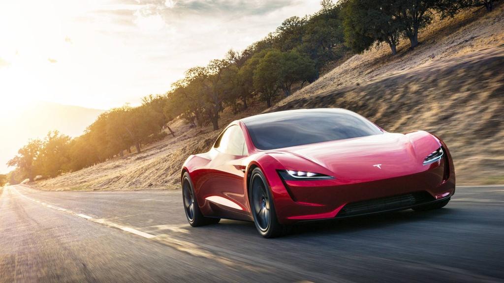 Elon Musk ra mat xe mui tran tang toc nhanh nhat the gioi hinh anh 2