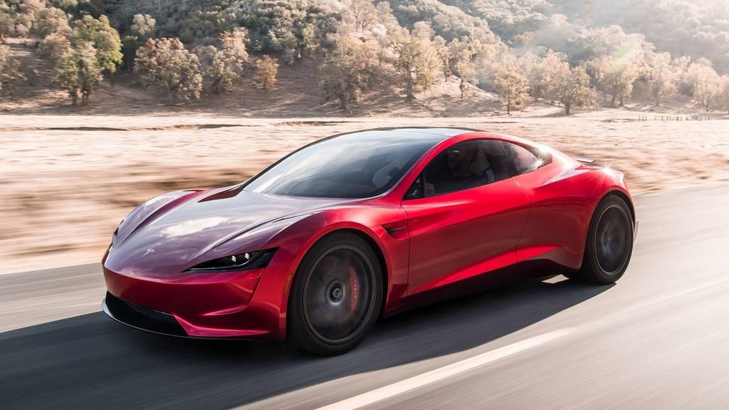 Elon Musk ra mat xe mui tran tang toc nhanh nhat the gioi hinh anh 3