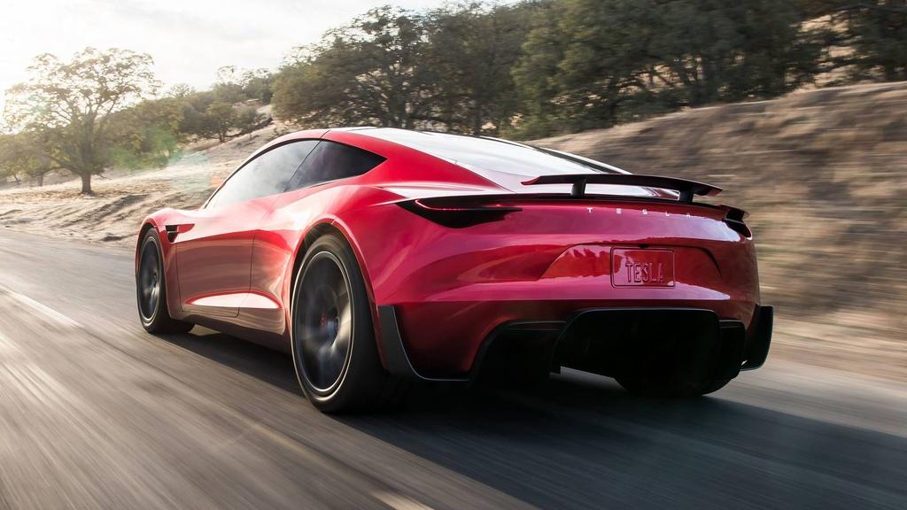 Elon Musk ra mat xe mui tran tang toc nhanh nhat the gioi hinh anh 5