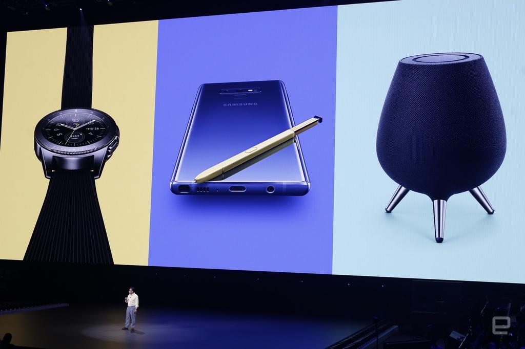 Nhung hinh anh an tuong tai buoi ra mat Galaxy Note9 hinh anh 10
