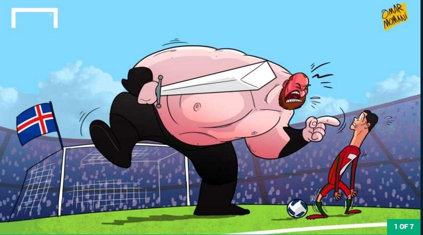 Ronaldo so phat khiep vi bi 'The Mountain' doa giet hinh anh 1