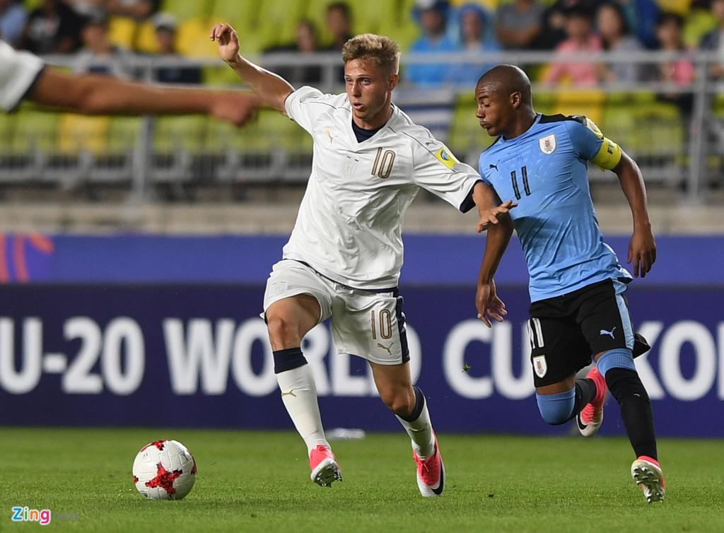 U20 Italy 0-1 U20 Uruguay anh 1