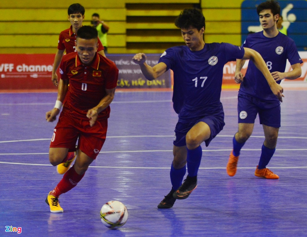 Con giau bai, DT futsal Viet Nam van huy diet Philippines 24-0 hinh anh 4