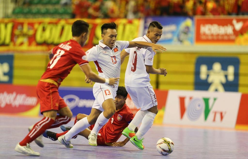 Cho chung ket trong mo giua futsal Viet Nam va Thai Lan hinh anh 8