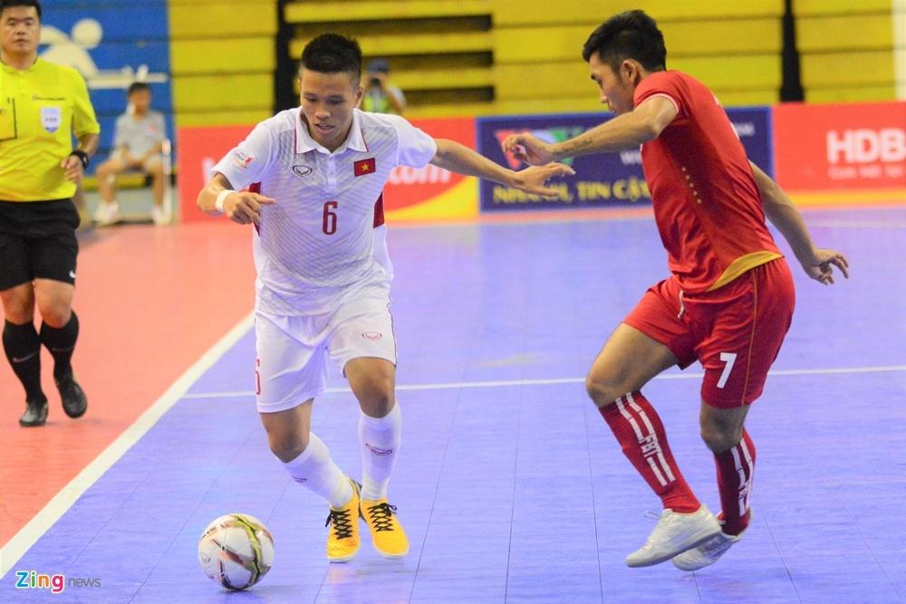 Futsal Viet Nam trang tay o giai Dong Nam A anh 6