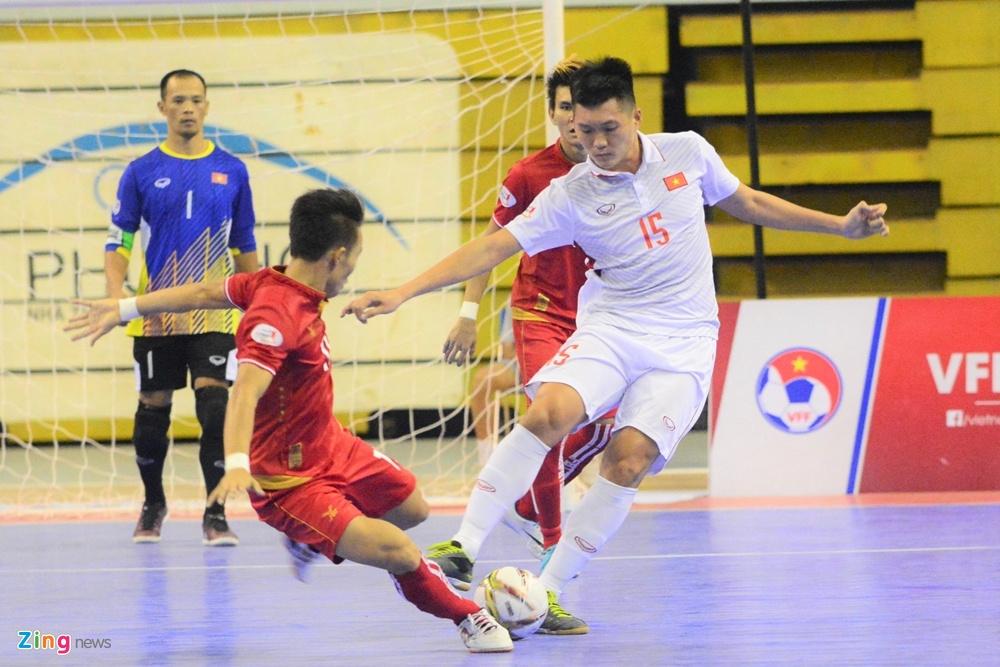 Futsal Viet Nam trang tay o giai Dong Nam A anh 7