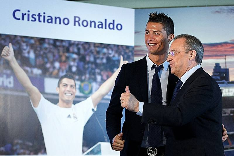 Ronaldo, dua con ghe chua bao gio Chu tich Perez thua nhan hinh anh 1