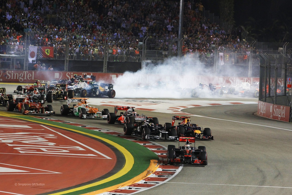 Duong dua F1 Singapore Grand Prix 'chat' nhat Dong Nam A hinh anh 3