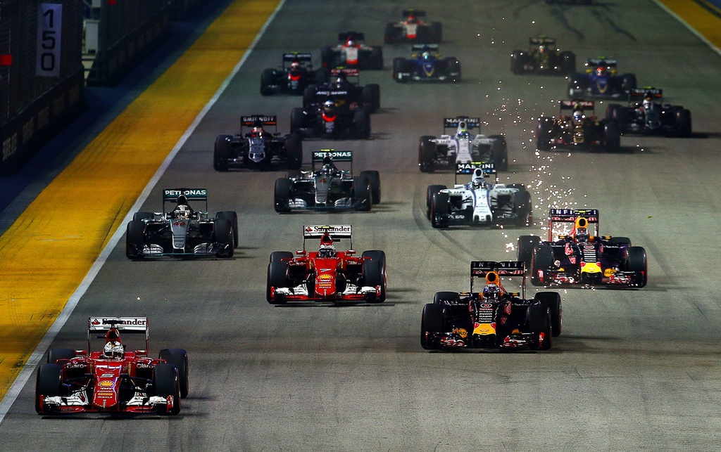 Duong dua F1 Singapore Grand Prix 'chat' nhat Dong Nam A hinh anh 4