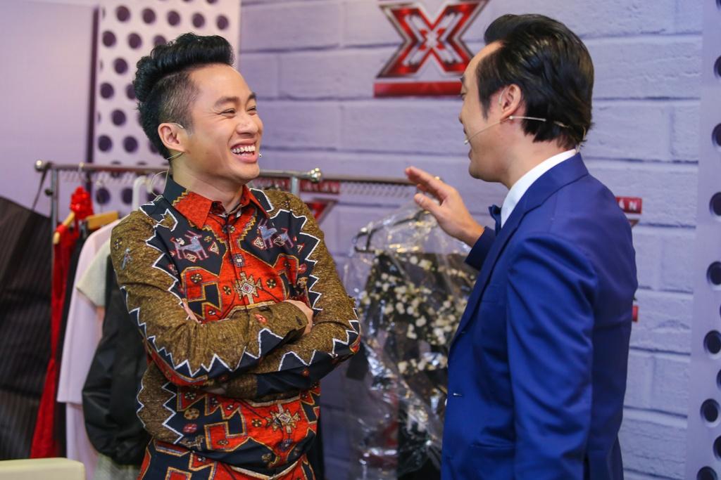 Thanh Lam thay Ho Ngoc Ha ngoi ghe nong X Factor hinh anh 11