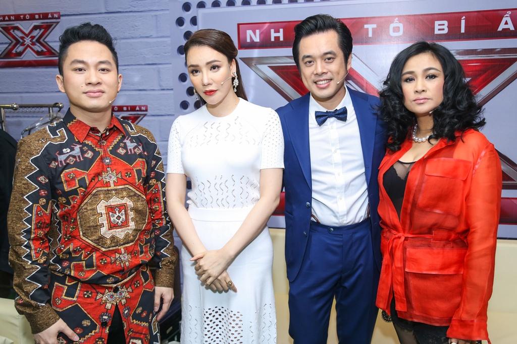 Thanh Lam thay Ho Ngoc Ha ngoi ghe nong X Factor hinh anh 12