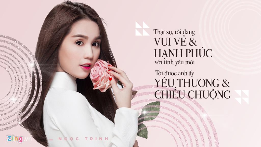 Phat ngon cua Ngoc Trinh ve chuyen tinh voi dai gia lon tuoi hinh anh 1