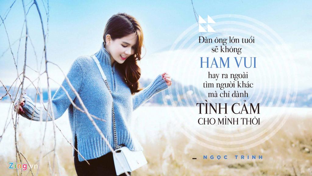 Phat ngon cua Ngoc Trinh ve chuyen tinh voi dai gia lon tuoi hinh anh 3
