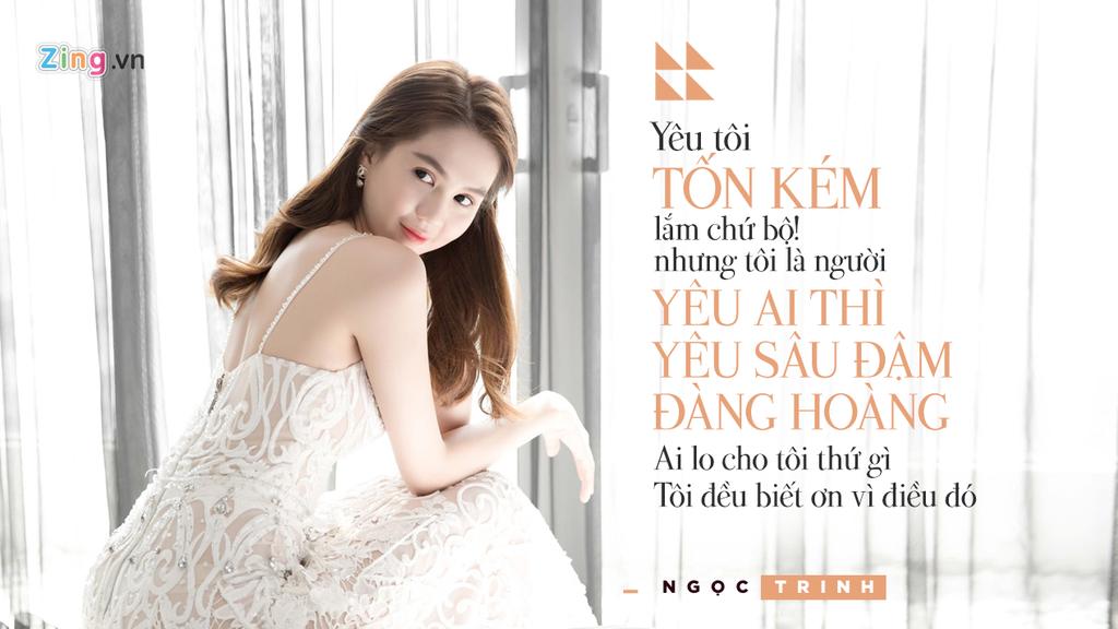 Phat ngon cua Ngoc Trinh ve chuyen tinh voi dai gia lon tuoi hinh anh 9