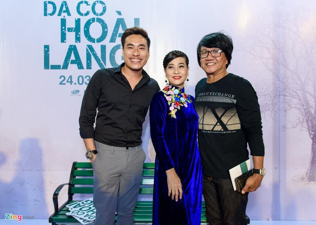 Hoai Linh va dan sao Viet tren tham do ra mat phim 'Da co hoai lang' hinh anh 11
