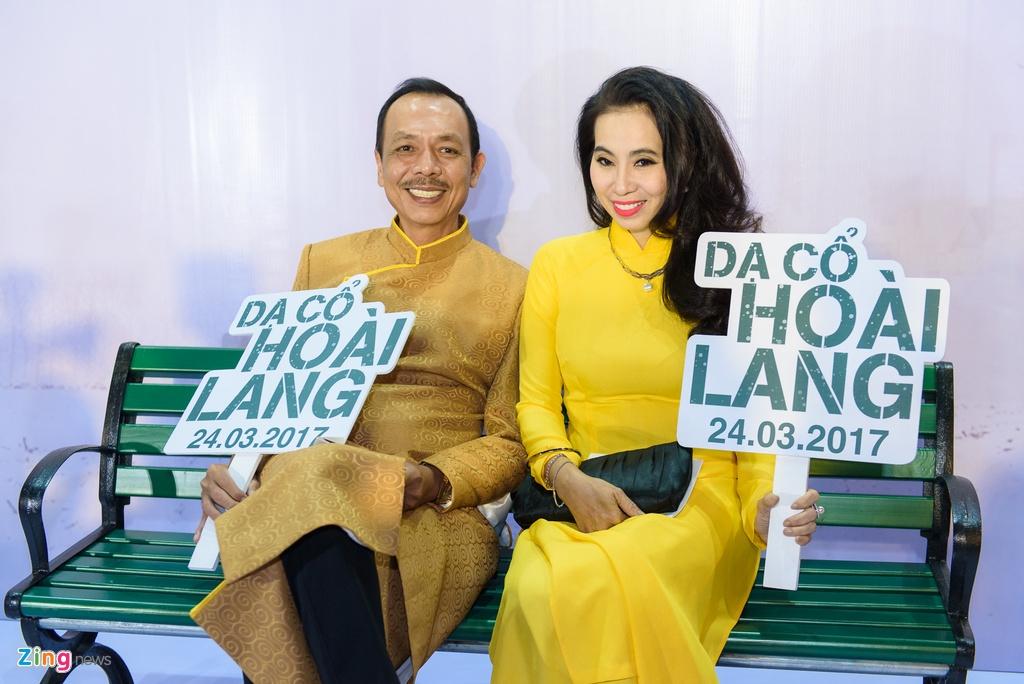 Hoai Linh va dan sao Viet tren tham do ra mat phim 'Da co hoai lang' hinh anh 16