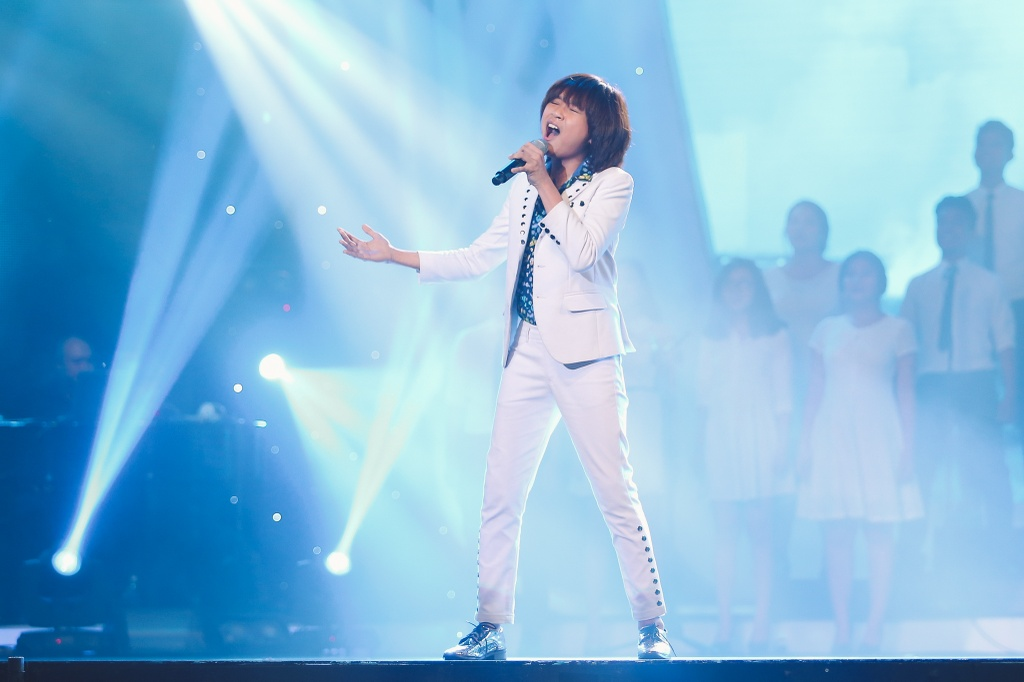Minh Hang 'muon sinh con ngay lap tuc' vi hot boy Vietnam Idol Kids hinh anh 2