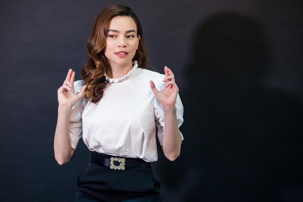 Ho Ngoc Ha: 'Toi chua bao gio phai co don' hinh anh 3