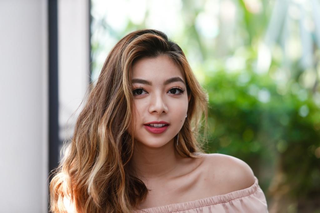 Con gai Chuong mon Vinh Xuan: 'Muon nhu Kaity Nguyen khi vao showbiz' hinh anh 2