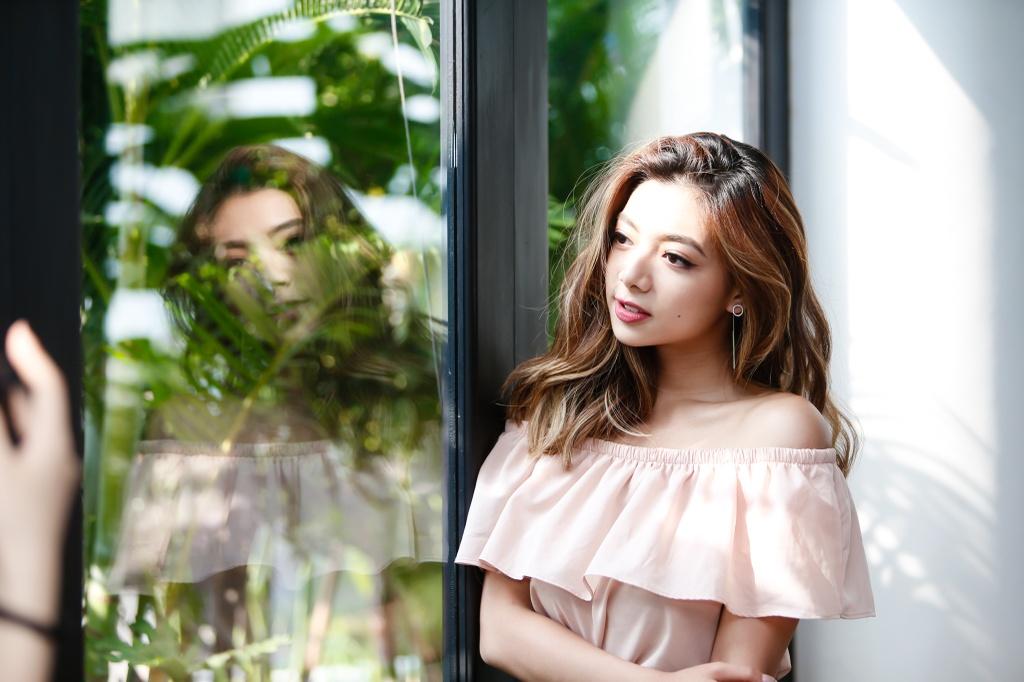 Con gai Chuong mon Vinh Xuan: 'Muon nhu Kaity Nguyen khi vao showbiz' hinh anh 6