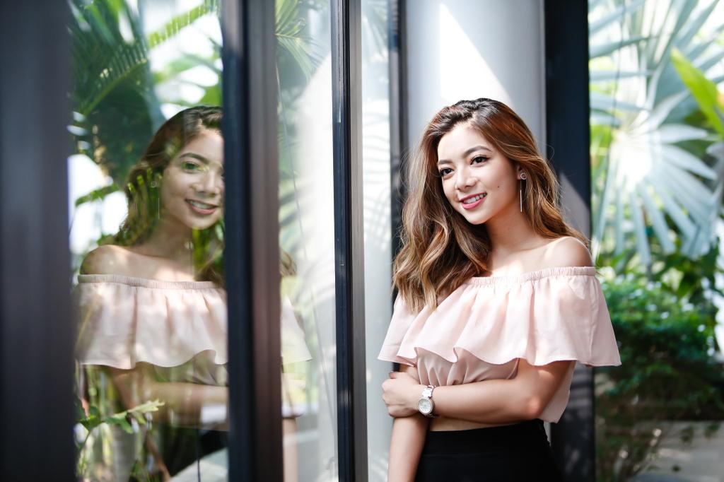 Con gai Chuong mon Vinh Xuan: 'Muon nhu Kaity Nguyen khi vao showbiz' hinh anh 1
