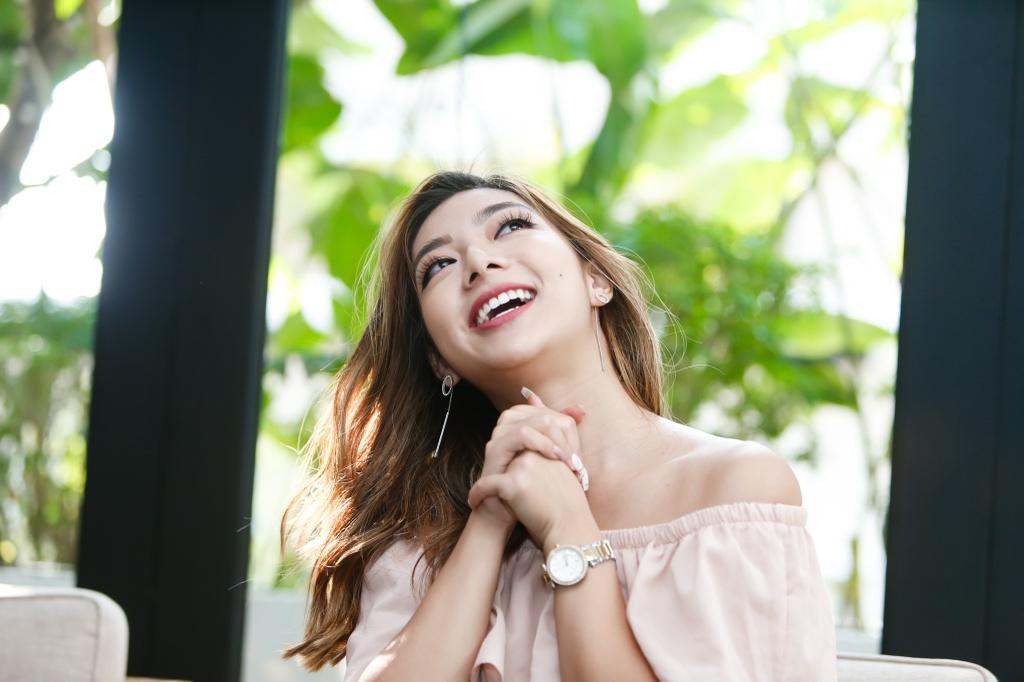 Con gai Chuong mon Vinh Xuan: 'Muon nhu Kaity Nguyen khi vao showbiz' hinh anh 4