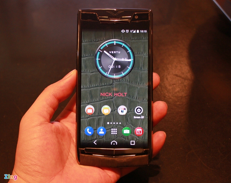 Dien thoai Vertu chay Android gia 470 trieu dong o VN hinh anh 1