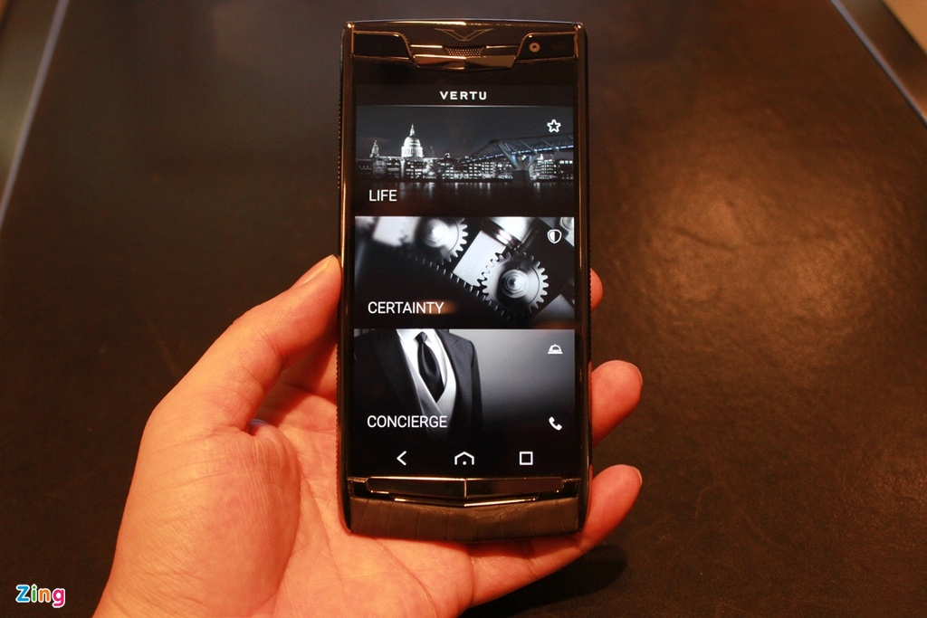 Dien thoai Vertu chay Android gia 470 trieu dong o VN hinh anh 8