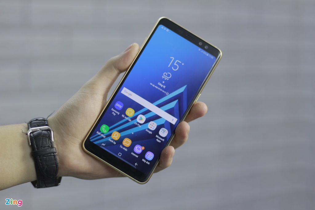 Hinh anh Galaxy A8+ anh 1