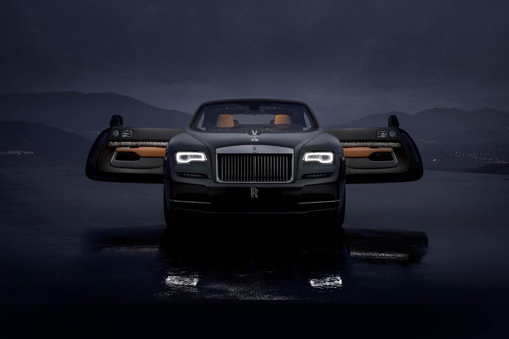 Rolls-Royce Wraith ban 'mua sao bang' ra mat hinh anh 2