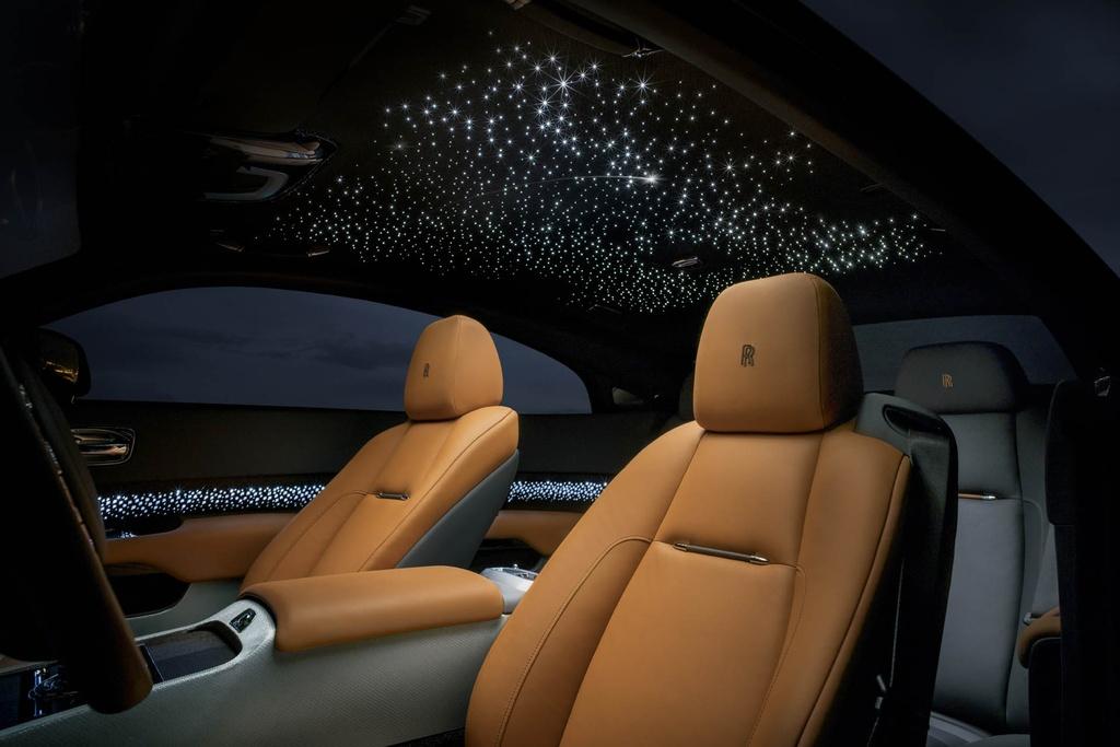Rolls-Royce Wraith ban 'mua sao bang' ra mat hinh anh 5