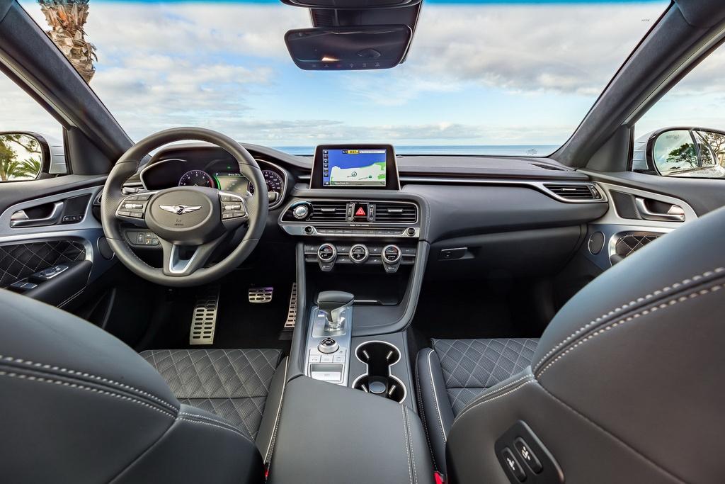 Genesis G70 2019: Sedan hang sang doi dau BMW 3-Series hinh anh 5