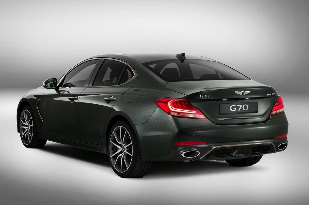 Genesis G70 2019: Sedan hang sang doi dau BMW 3-Series hinh anh 3