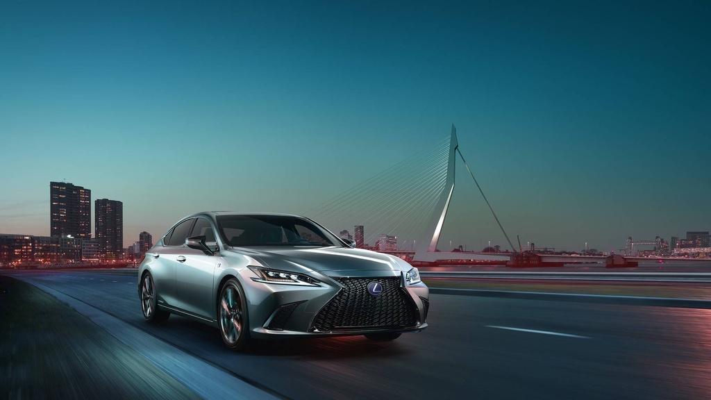 Lexus ES 2019 the he moi chinh thuc ra mat anh 11