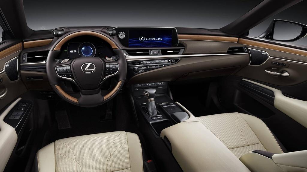 Lexus ES 2019 the he moi chinh thuc ra mat anh 6