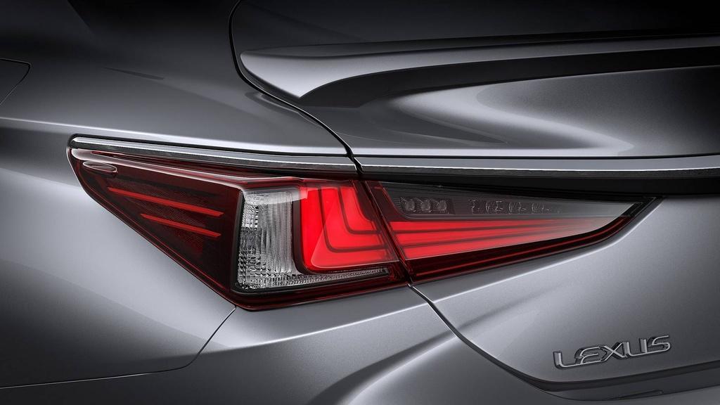 Lexus ES 2019 the he moi chinh thuc ra mat anh 5