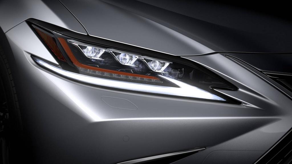 Lexus ES 2019 the he moi chinh thuc ra mat anh 4