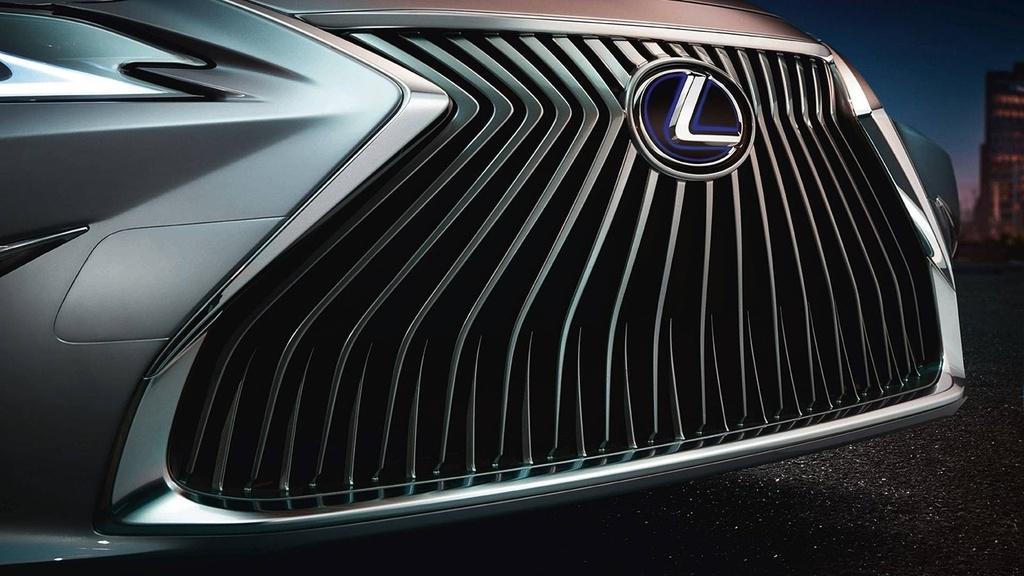 Lexus ES 2019 the he moi chinh thuc ra mat anh 3