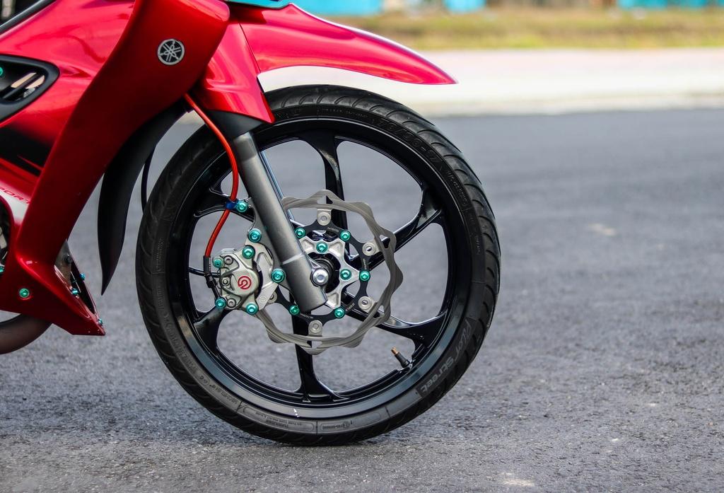 Yamaha Z125 do do choi hang hieu cua biker Vinh Long hinh anh 5