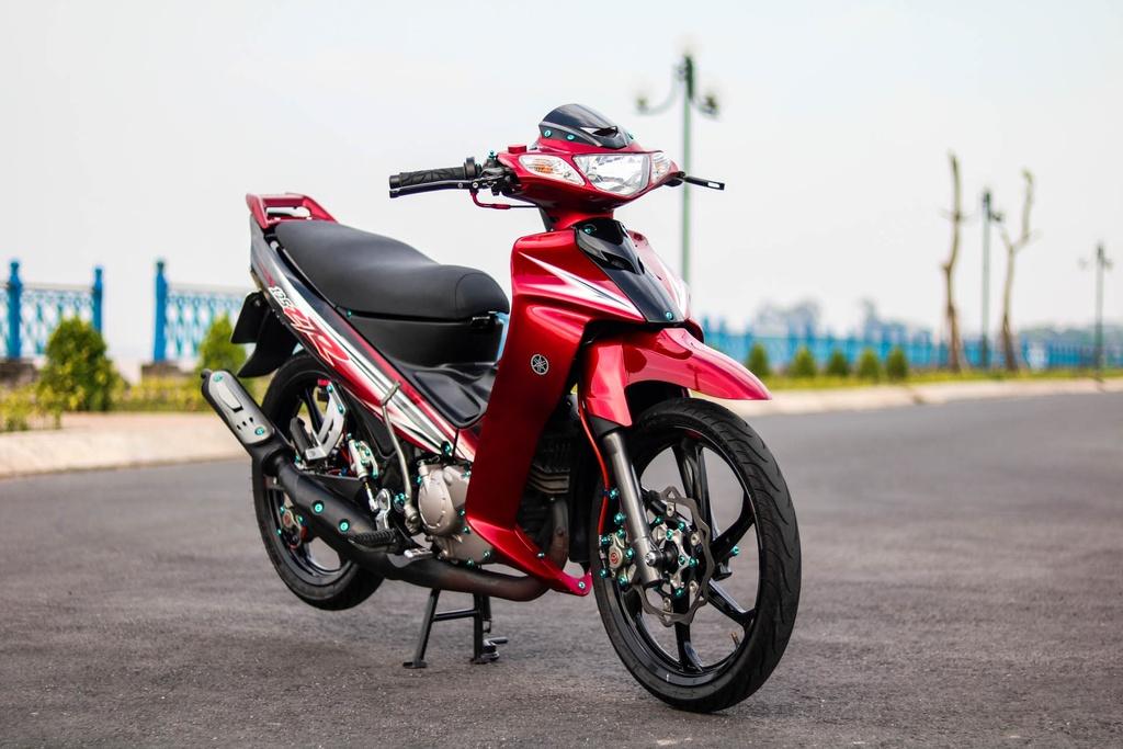 Yamaha Z125 do do choi hang hieu cua biker Vinh Long hinh anh 2